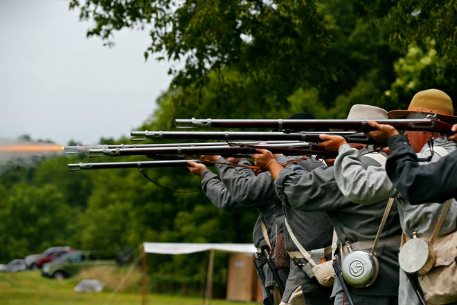 Wilson's Creek National Battlefield remains open but without public restrooms.