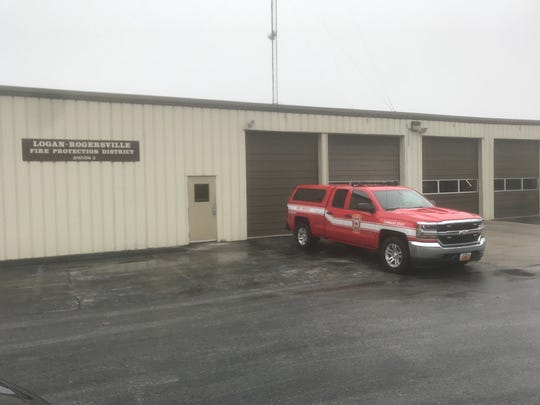 The Logan-Rogersville Fire Protection District Station No. 2 had been in operation for many years before the city of Springfield built its Station No. 12 next door on Blackman Road.