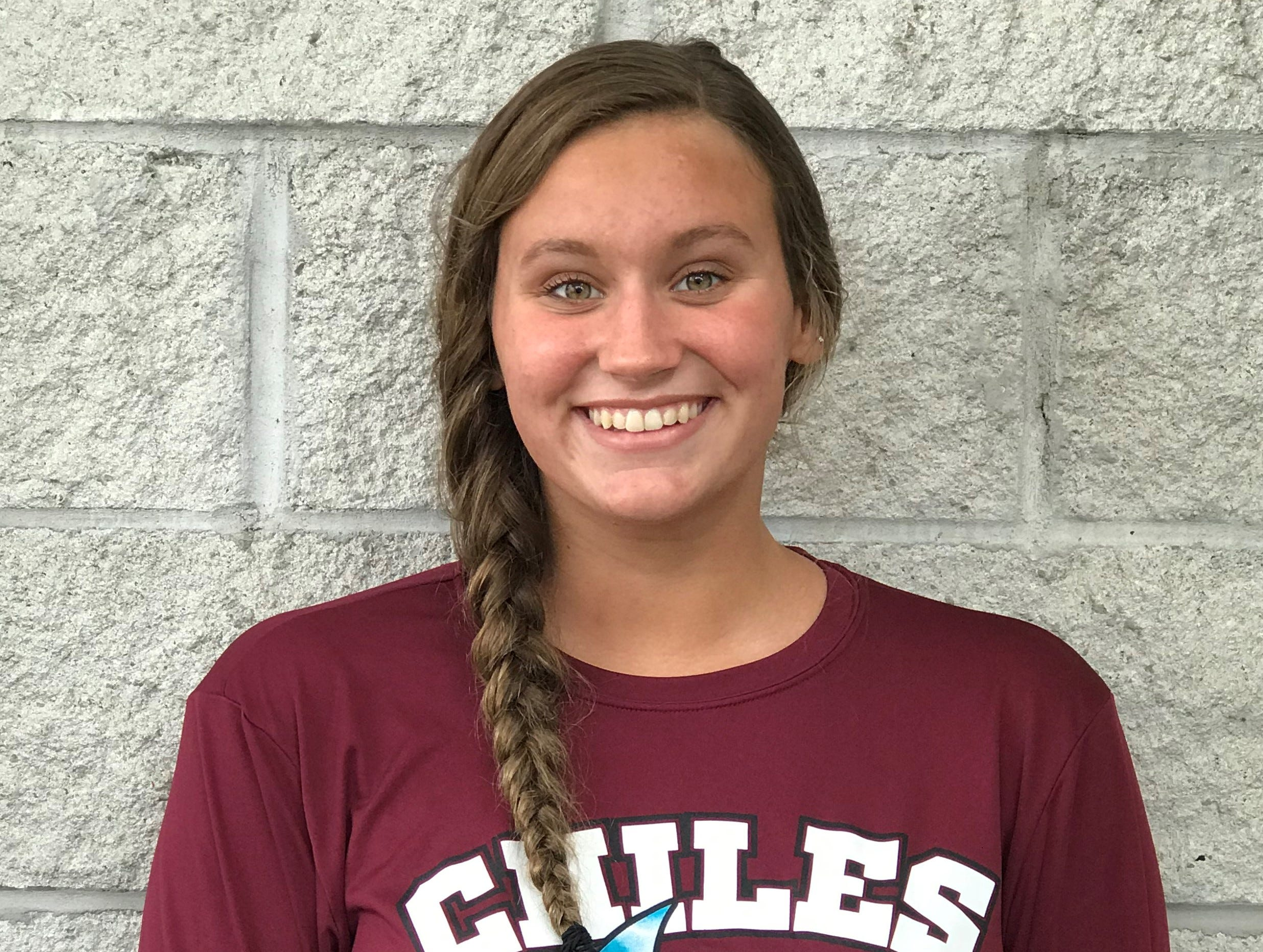 Chiles sophomore Emily Chorpening was named to the 2018 All-Big Bend girls swimming and diving first team.