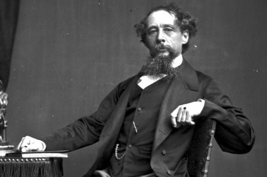 Charles Dickens Getty Images