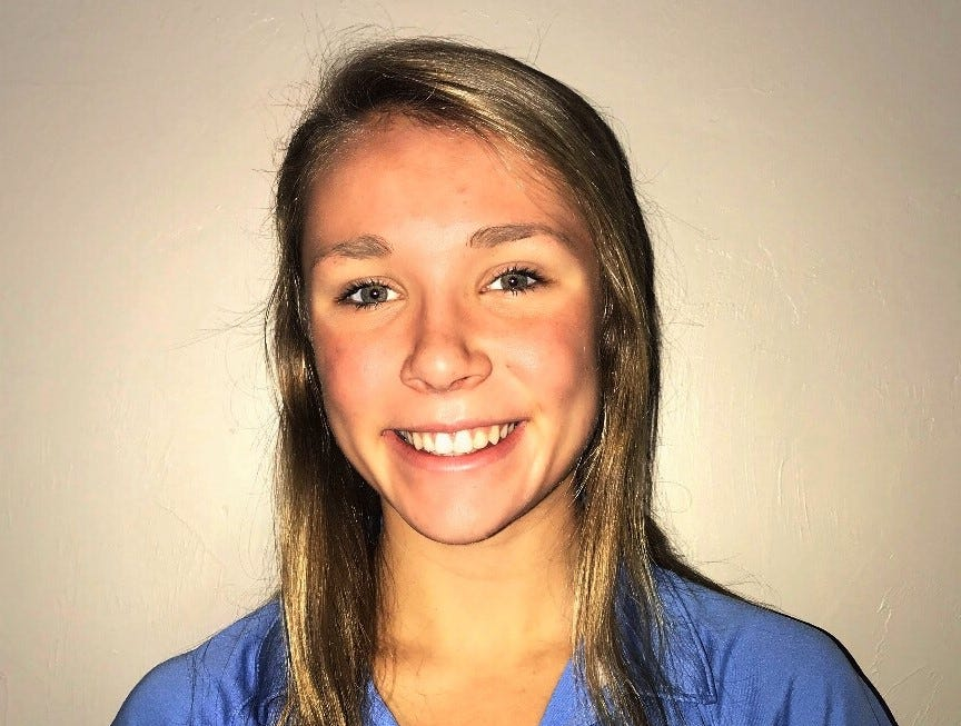 Maclay eighth-grader Meg Howell was named to the 2018 All-Big Bend girls swimming and diving first team.