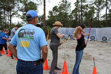 Strike 2019 in the bullseye with the Explore Archery workshop at the Oxbow Eco-Center on Saturday, Jan. 5 from 9 a.m. to noon.