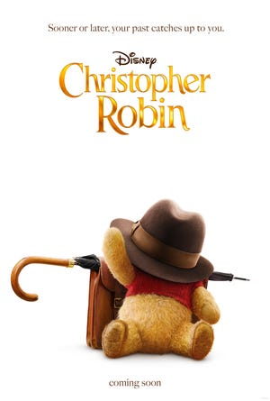 """See what happens when Christopher Robin grows up as the Morningside Branch Library presents """"Disney's Christopher Robin"""" as part of its Movie Matinee  at 2 p.m., Saturday, Jan. 12."""