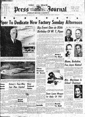 Front page of the Press Journal Jan. 5, 1961.