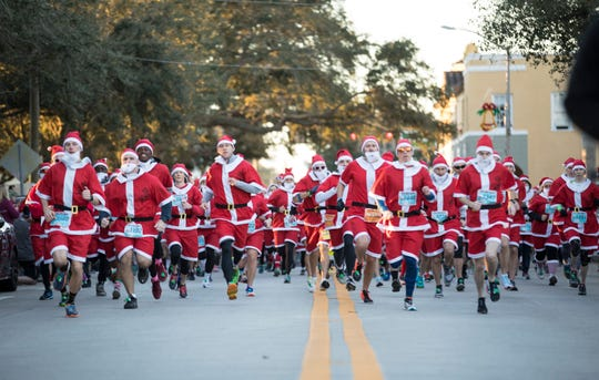The third annual Run Run Santa 1 Mile in Vero Beach is 7:30-9 a.m. Sunday at Pocahontas Park, 2199 14th Ave.