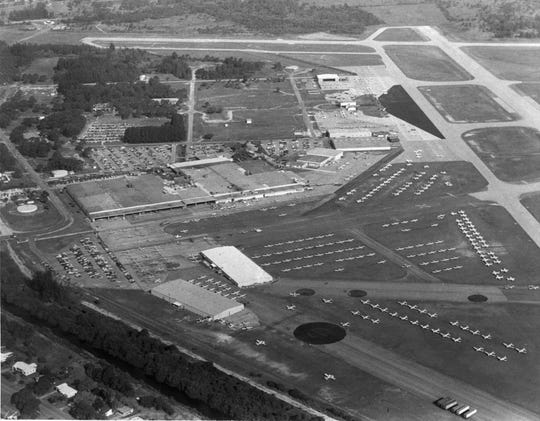 May, 1977 - An aerial view showed Piper Aircraft and the Vero Beach Municipal Airport.