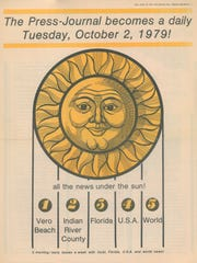 September 30, 1979 - The Press Journal made an announcement that it would become a daily newspaper on October 2, 1979.