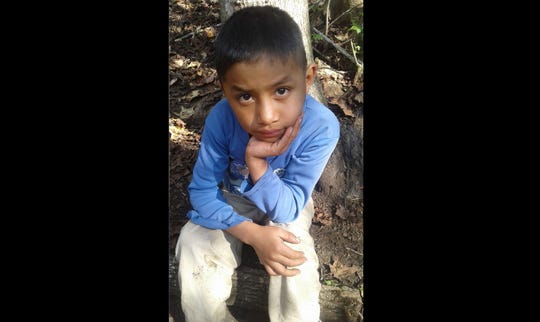 This Dec, 12, 2018, photo provided by Catarina Gomez on Thursday shows her half-brother Felipe Gomez Alonzo, 8, near her home in Yalambojoch, Guatemala. The 8-year-old boy died in U.S. custody at a New Mexico hospital on Christmas Eve after suffering a cough, vomiting and fever, authorities said. The cause is under investigation.