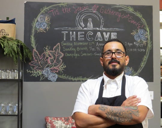 Henry Martinez is the new executive chef at The Cave inside Ventura Wine Co. The Oxnard native previously worked with chefs Tim Kilcoyne of Scratch and Gabe Garcia at Tierra Sur at Herzog Wine Cellars.
