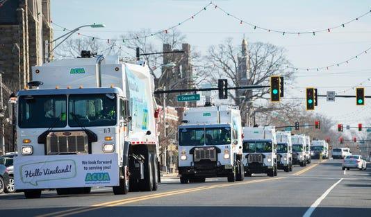 New Trash Trucks 1