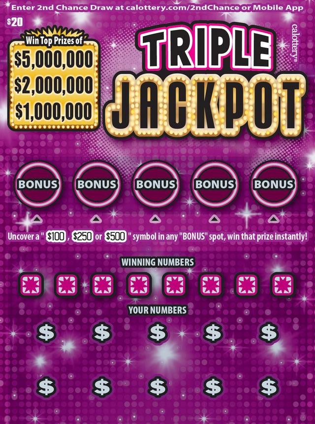 Winning California Triple Jackpot lottery ticket sold in Visalia