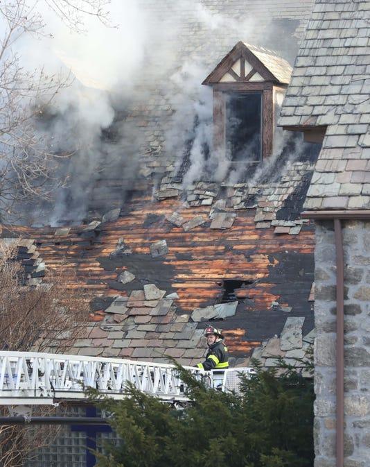 Zion Baptist Church Fire