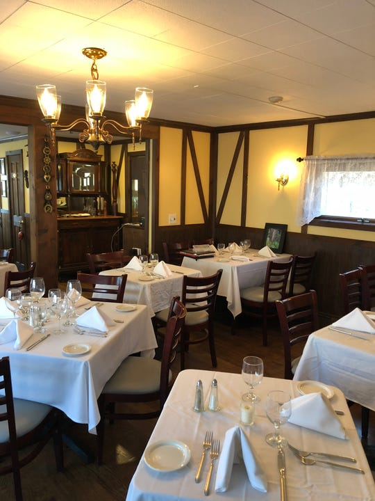 The interior of Nadine's in Yorktown Heights.
