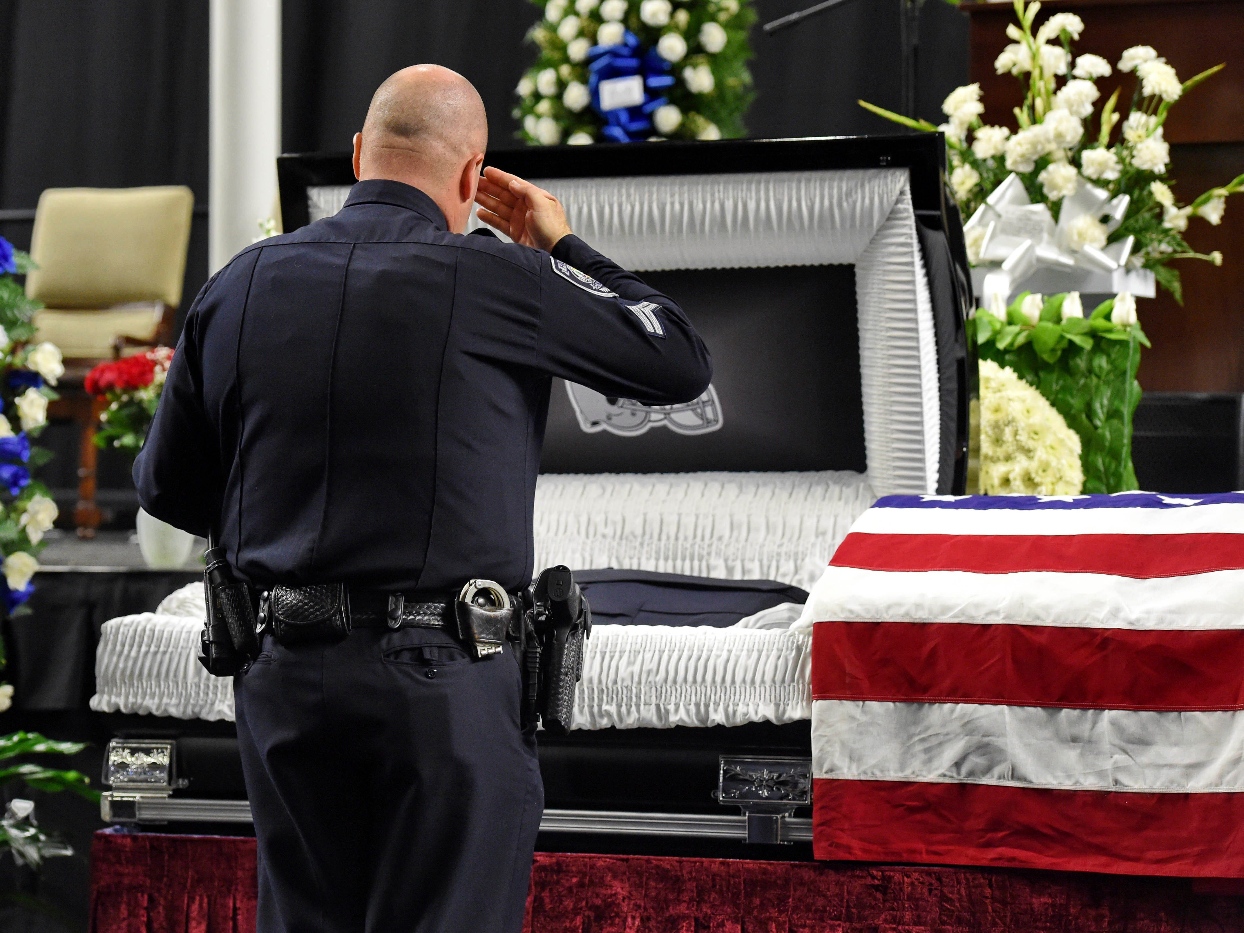 144 police officers died in the line of duty in 2018, reversing a one-year decline