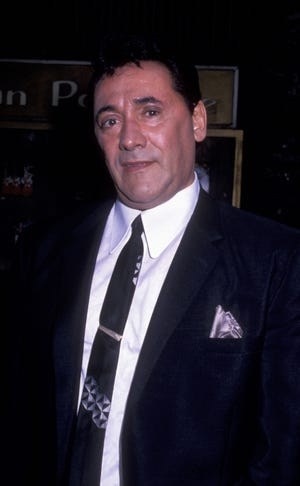 """Frank Adonis on location filming """"Goodfellas"""" on May 31, 1989 in New York City."""