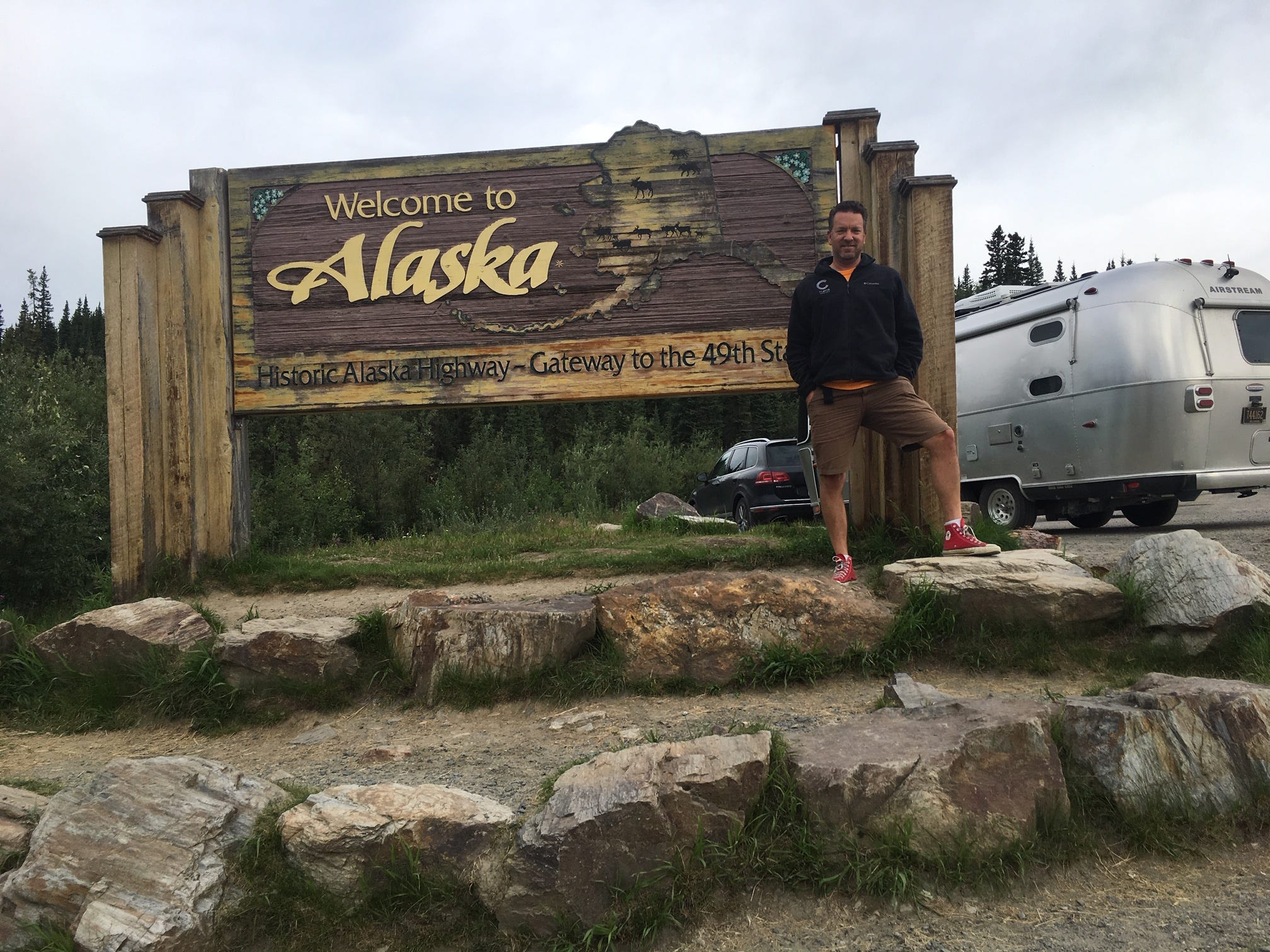 Dan McDougall from Wilmington, Delaware took a 14,000 mile trip to Alaska during the summer of 2018 with his Airstream in tow.
