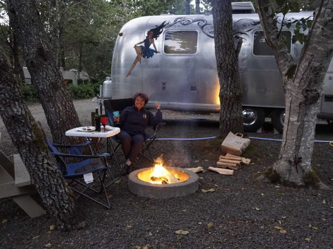 Laura Morrisette of Arlington, MA and her 1972 Safari took a trip to Burning Man four times.