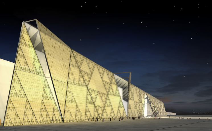 Cairo's Grand Egyptian Museum will be one of the largest museums in the world, displaying 7,000 years of history.