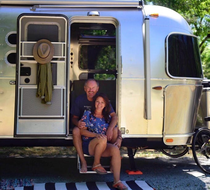 Mike and Kristin Ryan of Idaho are full-time travelers and photographers. The couple has been on the road for well over a year.