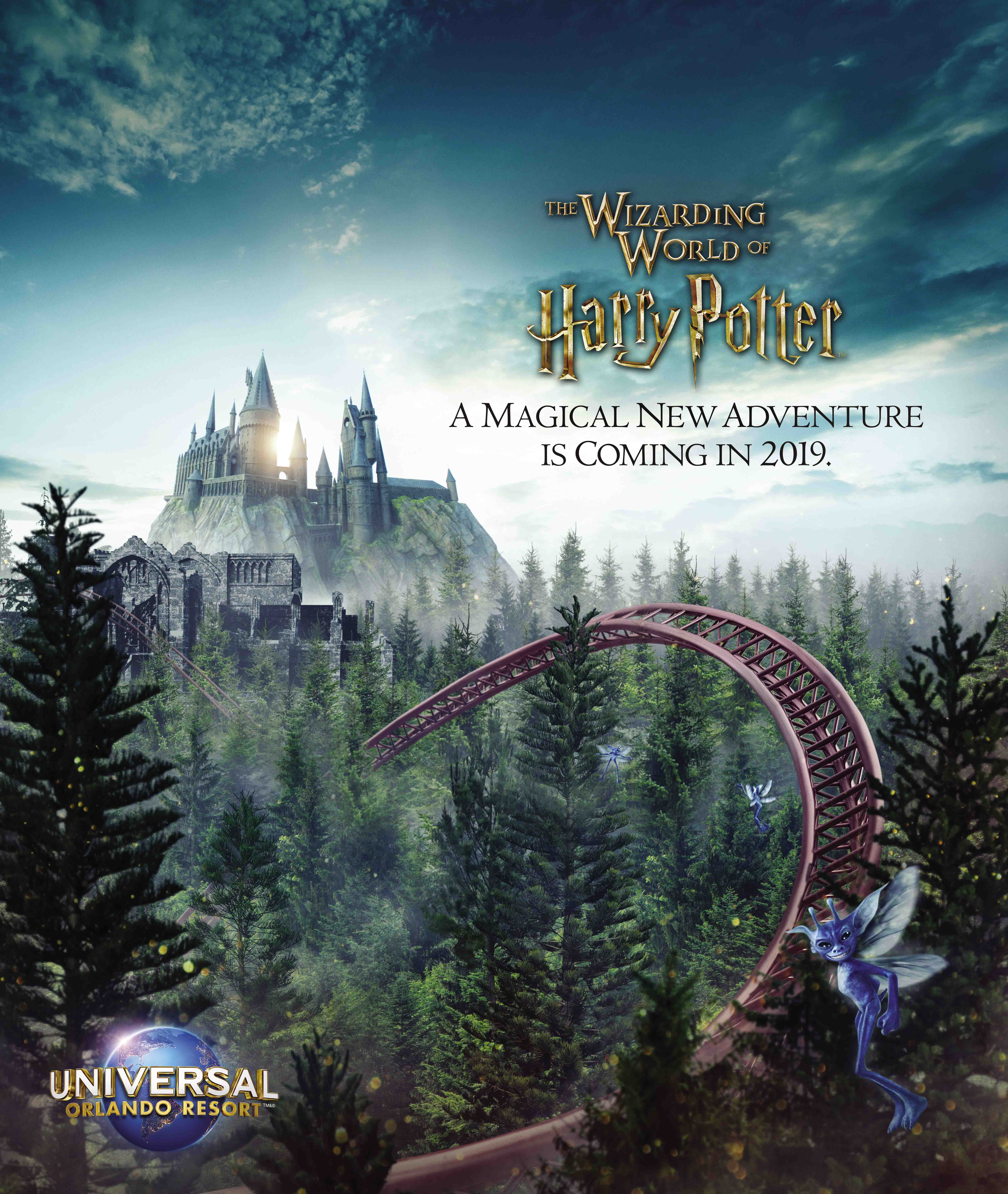 Universal Orlando details new roller coaster Hagrid's Magical Creatures Motorbike Adventure