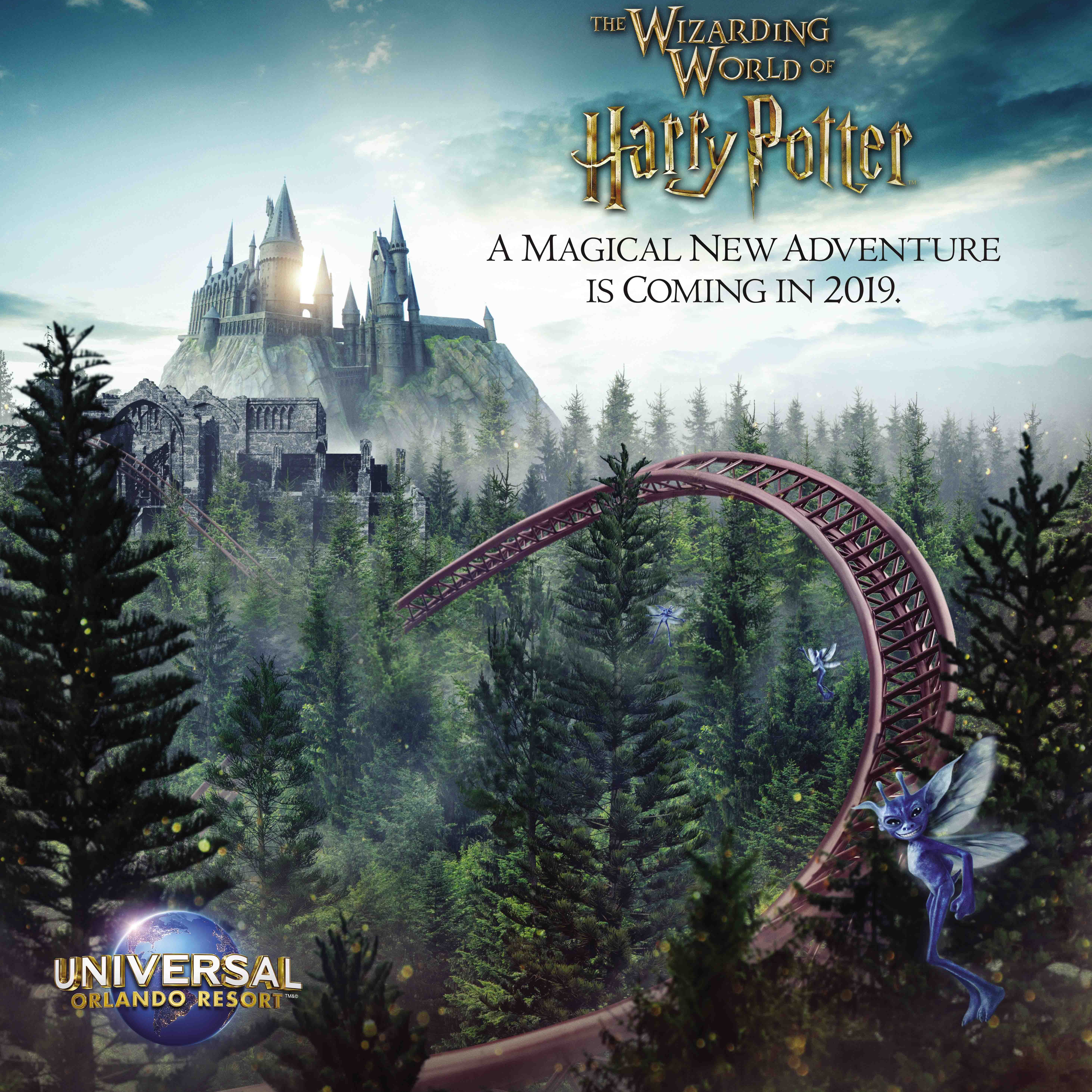 Universal Orlando's new roller coaster: Details about Hagrid's Magical Creatures Motorbike Adventure