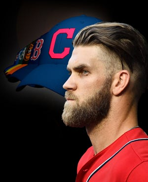 Bryce Harper is one of the marquee free agents this winter.