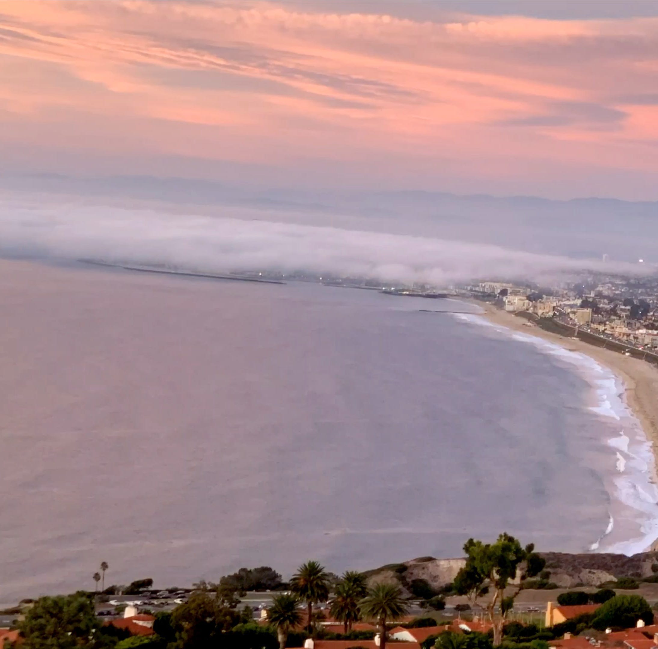 The spot in Palos Verdes Estates for time-lapse videos
