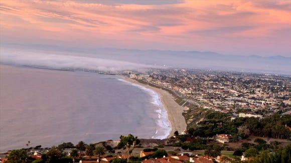 The spot in Palos Verdes Estates for time-lapse videos