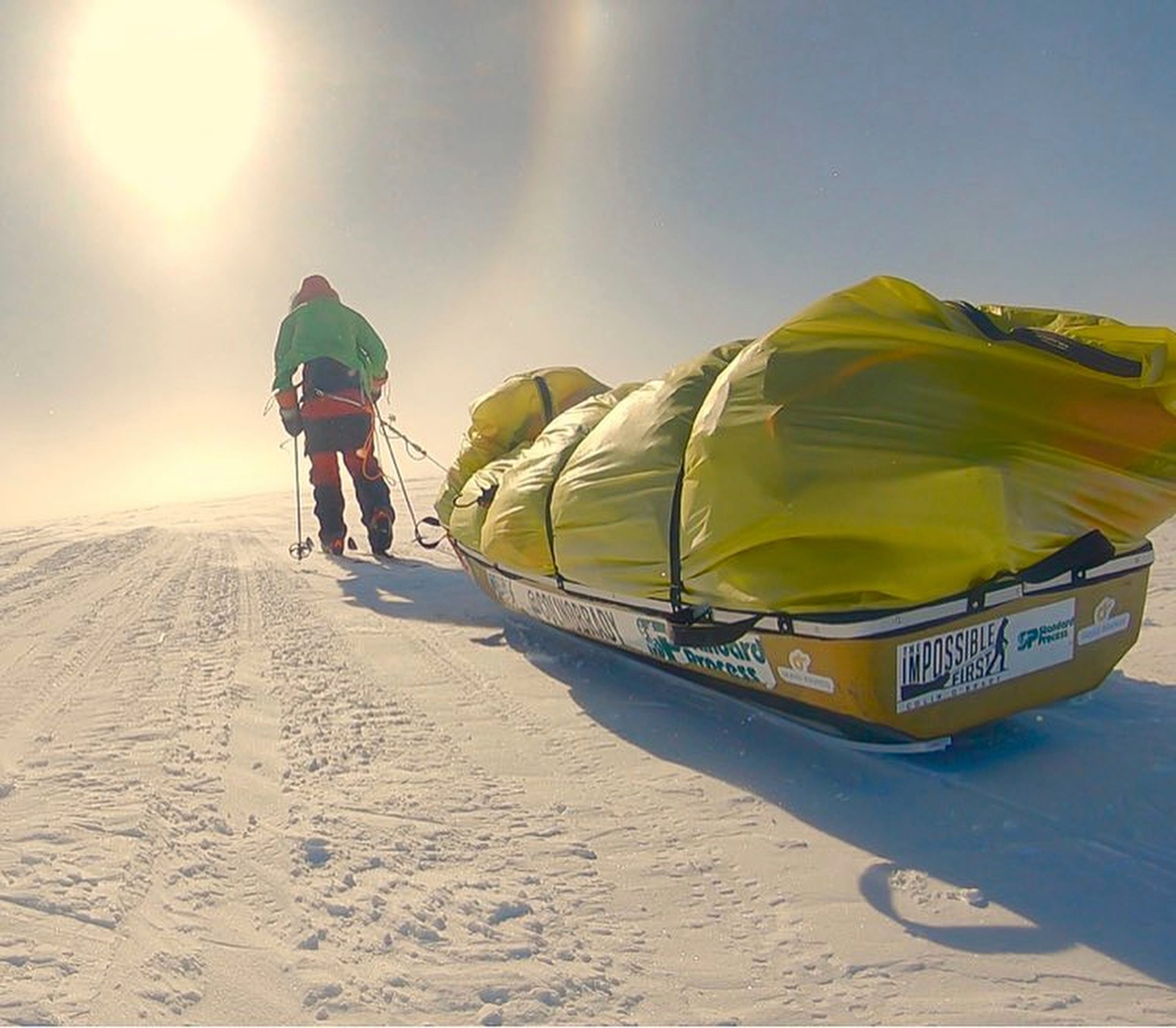 'I did it!': Colin O'Brady completes 'The Impossible First' across Antarctica