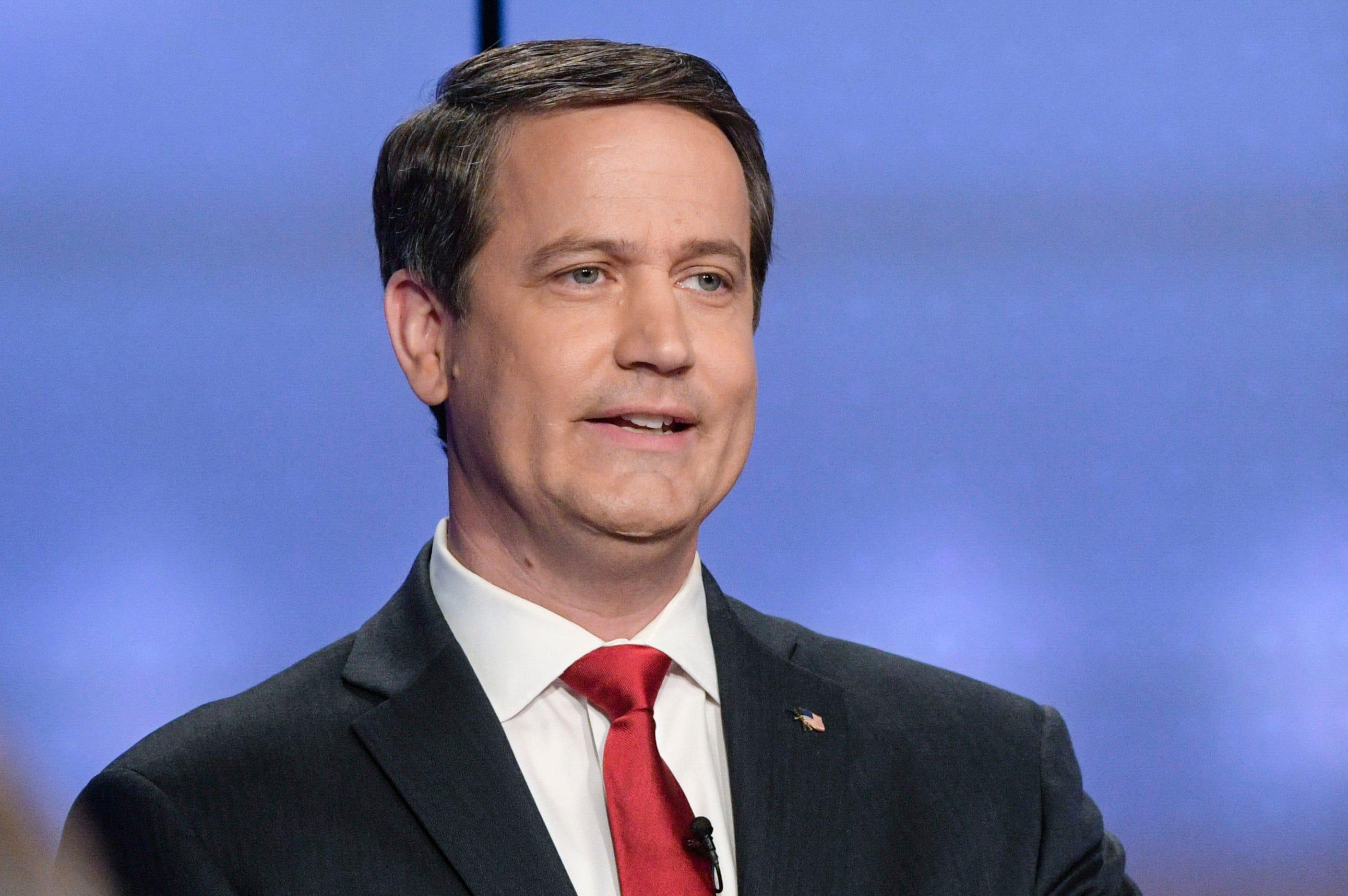 Republican Georgia state Sen. Michael Williams participates in a debate in Atlanta on May 20, 2018, during his failed gubernatorial campaign.