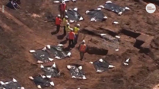 Discovery of African-American graves in Texas highlights 'moment of reckoning'