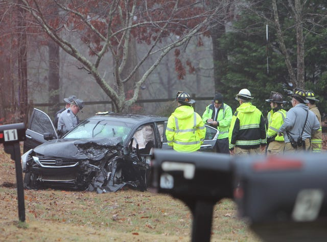 Coroner investigating wreck on Ellison Lake Road in Williamston