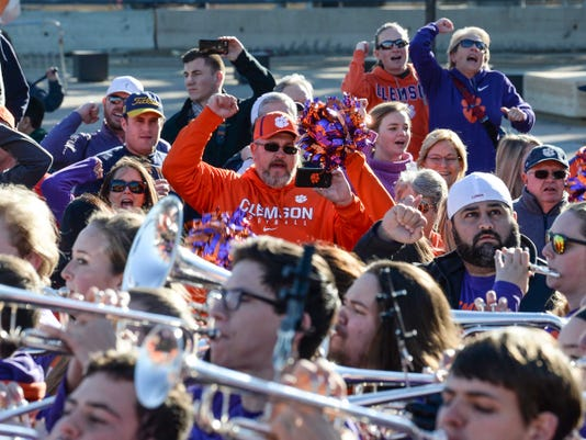 Battle Of The Bands Clemson Cotton Bowl