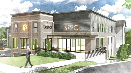 The proposed Zack's building on Tiger Boulevard would create 29 new student housing units.