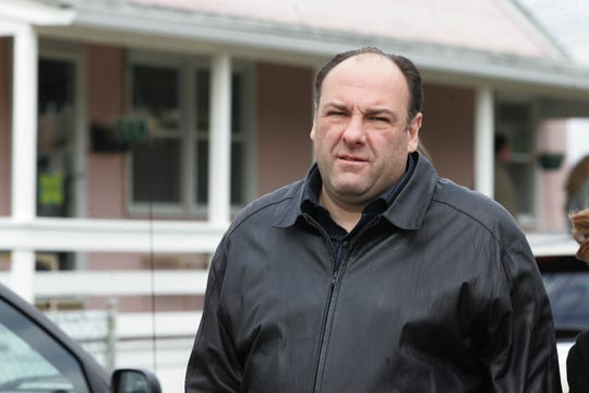 "HBO's ""Sopranos"" crew filmed a scene at Ocean Terrace and Ocean Ave. in Long Branch on April 6, 2007. Actor James Gandolfini arrives on set."