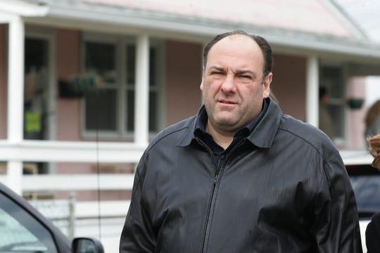 "HBO's ""Sopranos"" crew filmed a scene at Ocean Terrace and Ocean Ave. in Long Branch on April 6, 2007. Actor James Gandolfini arrives on set."