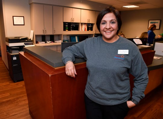 Ann Herrera helps cancer patients every day at her job at Texas Oncology.