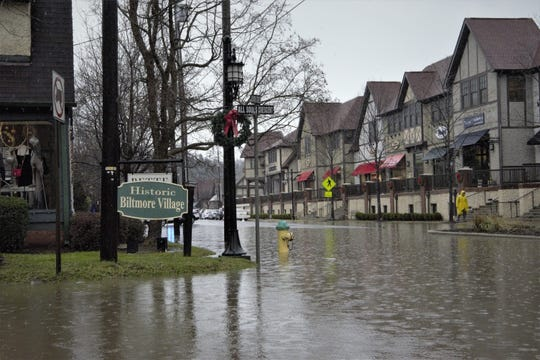 The Asheville Regional Airport recorded 79.36 inches of rain in 2018, making it the wettest year on record. Biltmore Village had minor flooding a couple of times last year after heavy rainfalls.