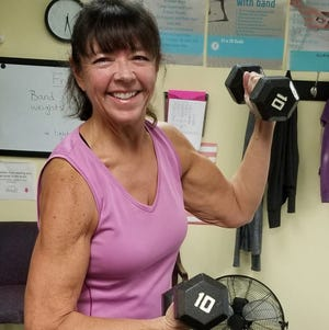 Sherry Slavoff, 59, has lost more than 100 pounds since resolving to make major changes to her health two years ago.