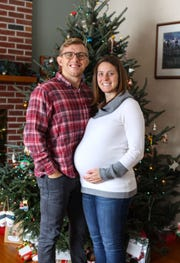 Kyle and Megan Dake are soon to welcome a newcomer to the family.