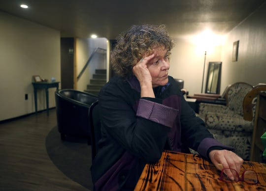 Carol Carlson returned to Kitsap County on Friday in an attempt to retrace the steps she took a year ago when she was jailed, accused of drunken driving. After wandering Kitsap County and being dropped at the Salvation Army, doctors eventually diagnosed her with a stroke. Drunken-driving charges against her were dropped.