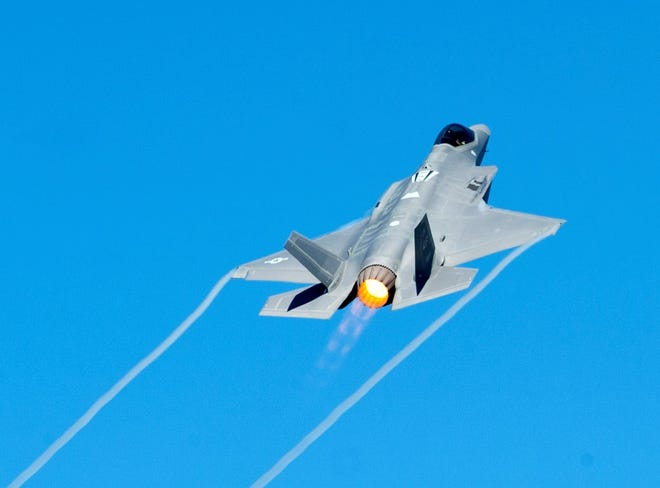 In March, theF-35A Lightning II Demonstration Team will make its North American debut byheadliningthe Melbourne Air & Space Show.