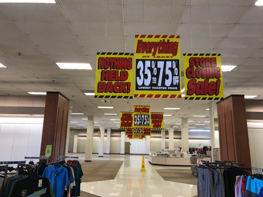 The Sears store in Melbourne will be closing in the next 10 days. The fate of the retail's remaining stores, including the one on Merritt Island, remains uncertain.