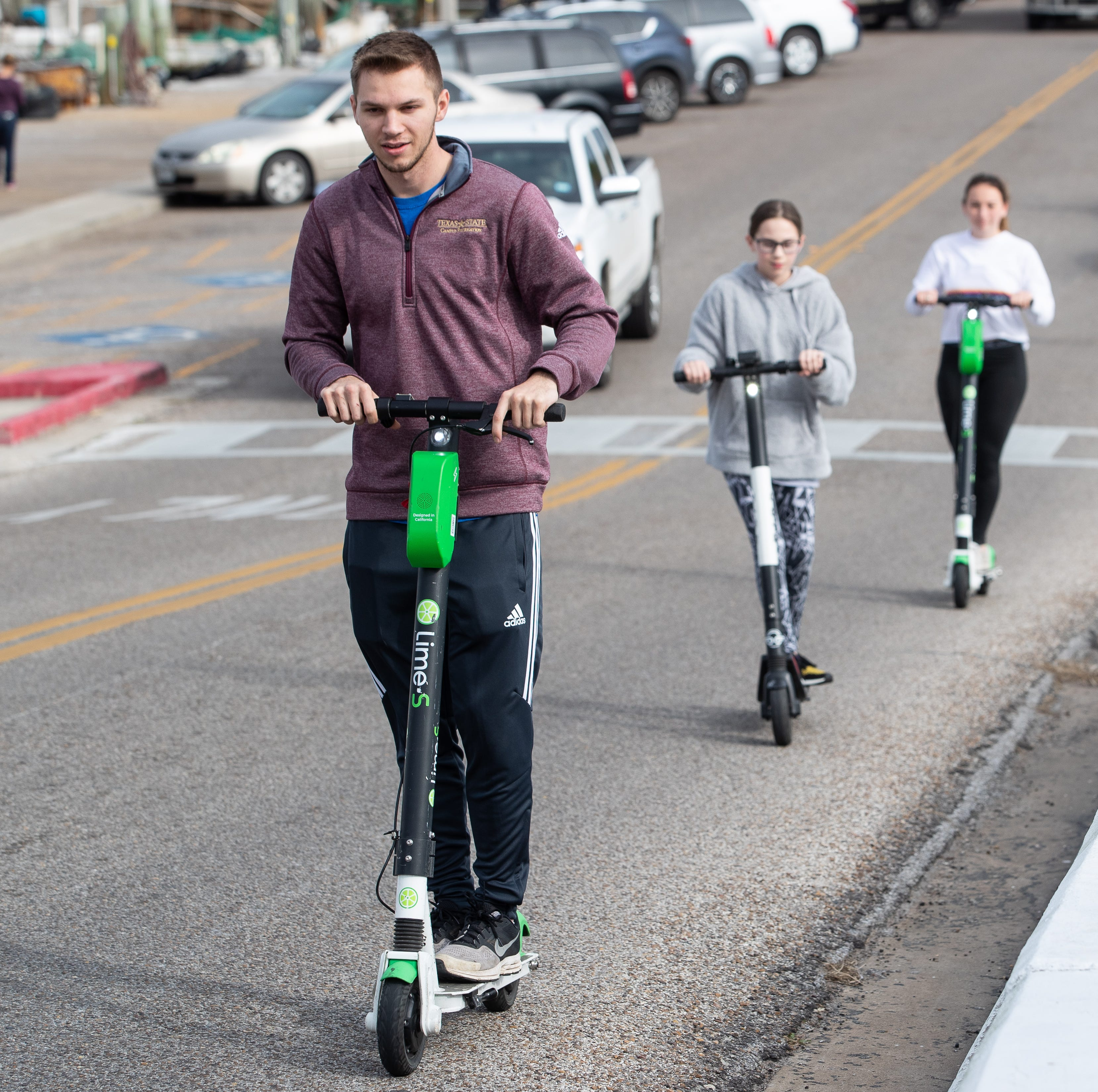 We tried the new electric scooters in Corpus Christi. This is what we think.
