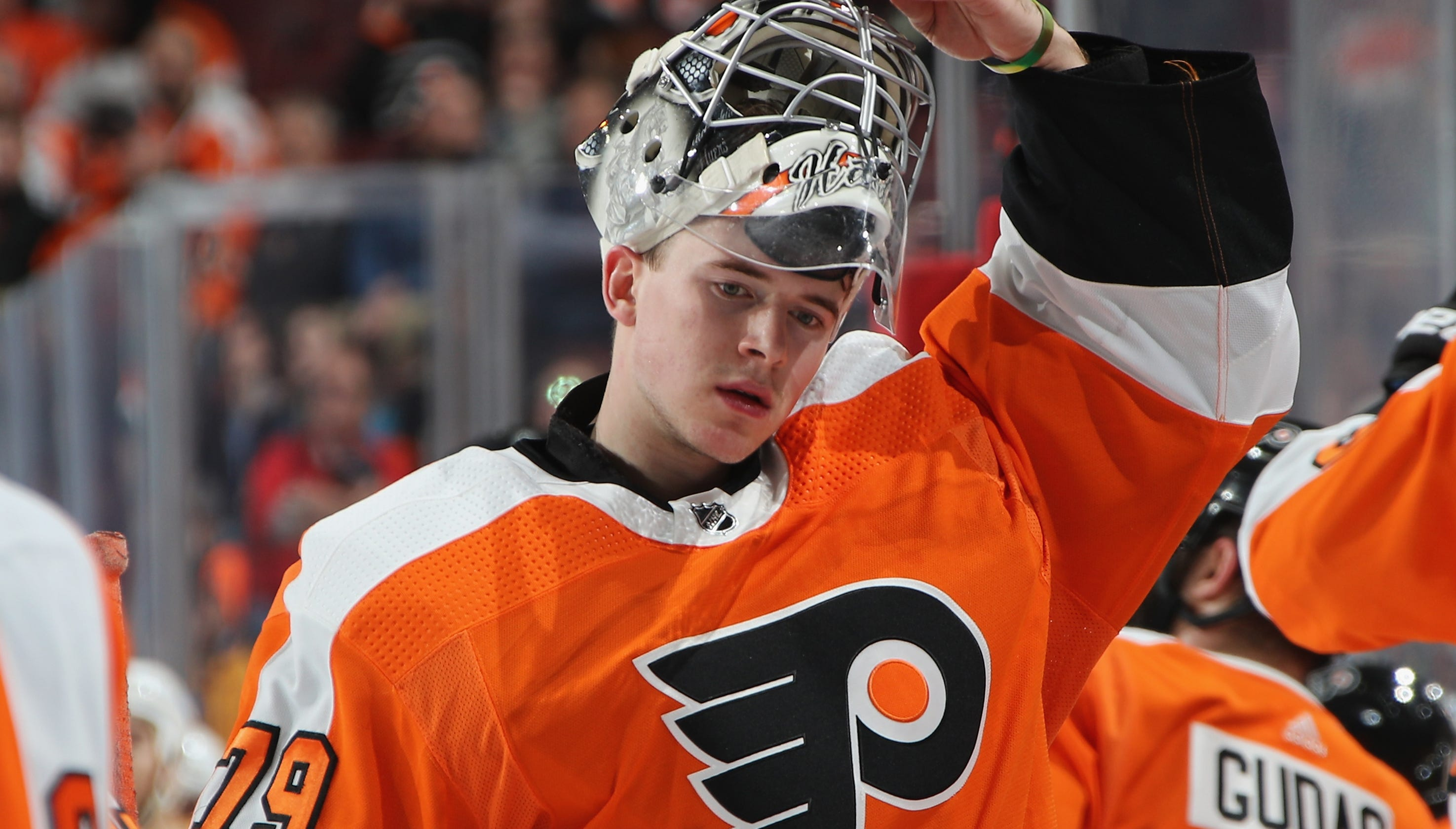 1a9eddf3e Flyers audition continues for Carter Hart