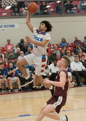Zane Trace's Cam Evans earned the District 14 Coaches Association's D-I/II Player of the Year award.