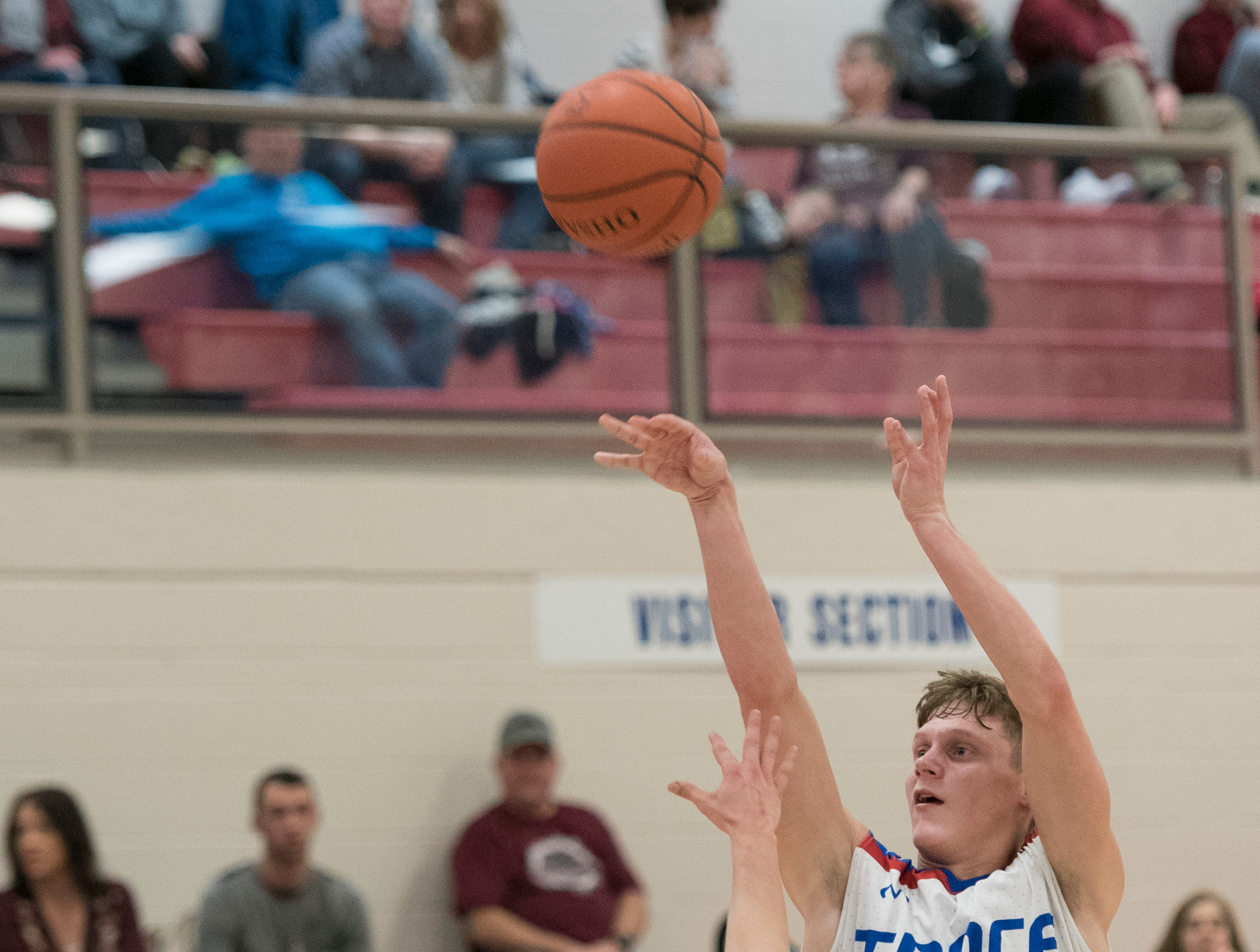 Zane Trace defeated Vinton County 65-52 Thursday night at Zane Trace High School.