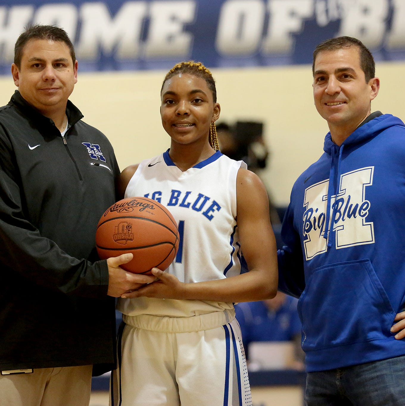 Hard work leads Hamilton's Riggins to Big Blue scoring milestone