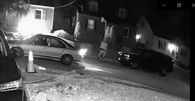 The Hamilton County Sheriff's Office is attempting to identify the driver and passenger of a car involved in a shooting on Christmas night in Gold Manor.