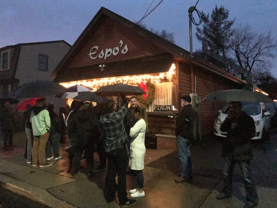 Espo's, a favorite Italian restaurant of Central Jersey residents, closed after its last night of business on Friday, Dec. 28.